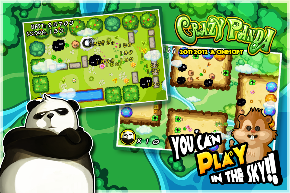 Crazy Panda screenshot-4
